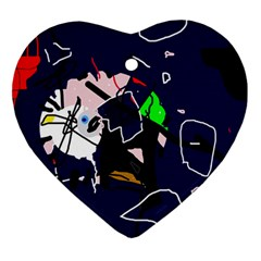 Abstraction Ornament (heart) by Valentinaart