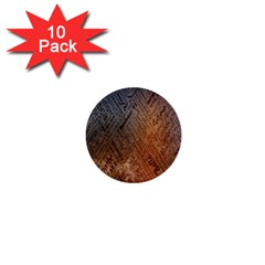 Typography 1  Mini Buttons (10 Pack)