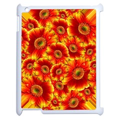 Gerbera Flowers Blossom Bloom Apple Ipad 2 Case (white) by Nexatart