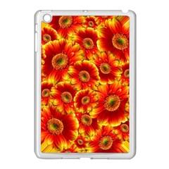 Gerbera Flowers Blossom Bloom Apple Ipad Mini Case (white) by Nexatart