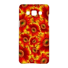 Gerbera Flowers Blossom Bloom Samsung Galaxy A5 Hardshell Case