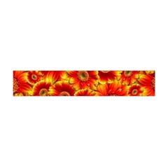 Gerbera Flowers Blossom Bloom Flano Scarf (mini) by Nexatart