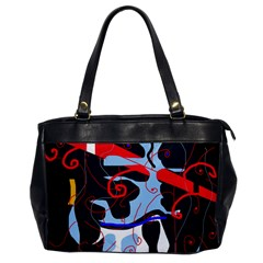 Abstraction Office Handbags by Valentinaart