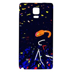 Abstraction Galaxy Note 4 Back Case by Valentinaart