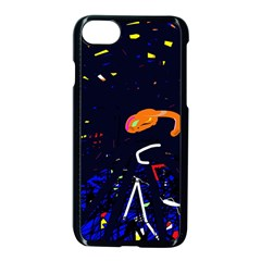 Abstraction Apple Iphone 7 Seamless Case (black) by Valentinaart