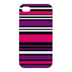 Stripes Colorful Background Apple Iphone 4/4s Premium Hardshell Case