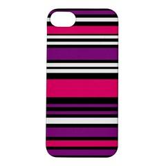 Stripes Colorful Background Apple Iphone 5s/ Se Hardshell Case by Nexatart