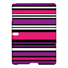 Stripes Colorful Background Samsung Galaxy Tab S (10.5 ) Hardshell Case  by Nexatart