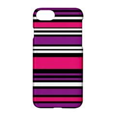 Stripes Colorful Background Apple Iphone 7 Hardshell Case by Nexatart