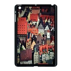 Tilt Shift Of Urban View During Daytime Apple Ipad Mini Case (black)