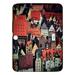 Tilt Shift Of Urban View During Daytime Samsung Galaxy Tab 3 (10 1 ) P5200 Hardshell Case