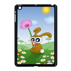 Easter Spring Flowers Happy Apple Ipad Mini Case (black) by Nexatart