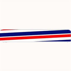 Red White Blue Patriotic Ribbons Small Bar Mats