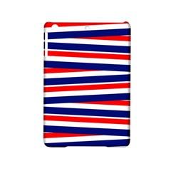 Red White Blue Patriotic Ribbons Ipad Mini 2 Hardshell Cases
