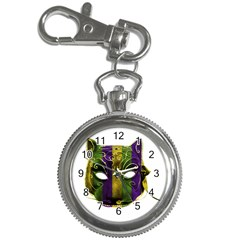 Catwoman Mardi Gras Mask Key Chain Watches by dflcprints