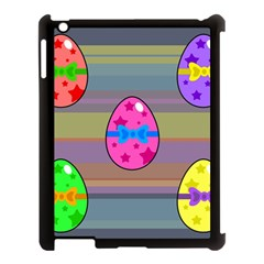 Holidays Occasions Easter Eggs Apple Ipad 3/4 Case (black) by Nexatart