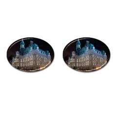 Montreal Quebec Canada Building Cufflinks (oval) by Nexatart