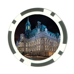 Montreal Quebec Canada Building Poker Chip Card Guard