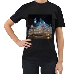 Montreal Quebec Canada Building Women s T Shirt (black) by Nexatart
