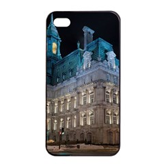 Montreal Quebec Canada Building Apple Iphone 4/4s Seamless Case (black)