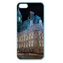 Montreal Quebec Canada Building Apple Seamless Iphone 5 Case (color)