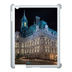 Montreal Quebec Canada Building Apple iPad 3/4 Case (White) by Nexatart