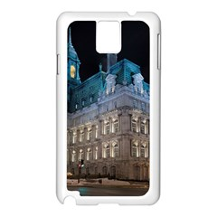 Montreal Quebec Canada Building Samsung Galaxy Note 3 N9005 Case (white)