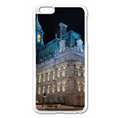 Montreal Quebec Canada Building Apple Iphone 6 Plus/6s Plus Enamel White Case by Nexatart