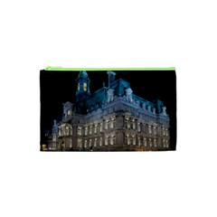 Montreal Quebec Canada Building Cosmetic Bag (xs) by Nexatart