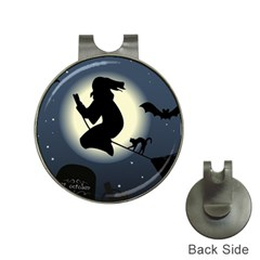Halloween Card With Witch Vector Clipart Hat Clips With Golf Markers by Nexatart