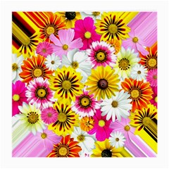 Flowers Blossom Bloom Nature Plant Medium Glasses Cloth (2 Side) by Nexatart