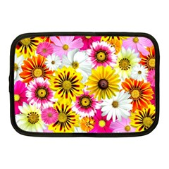 Flowers Blossom Bloom Nature Plant Netbook Case (medium)