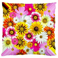 Flowers Blossom Bloom Nature Plant Large Cushion Case (two Sides)