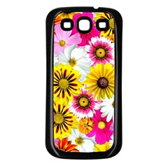 Flowers Blossom Bloom Nature Plant Samsung Galaxy S3 Back Case (black)
