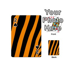 Tiger Pattern Playing Cards 54 (mini)