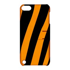 Tiger Pattern Apple Ipod Touch 5 Hardshell Case With Stand