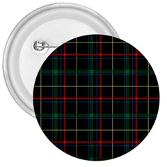Plaid Tartan Checks Pattern 3  Buttons by Nexatart