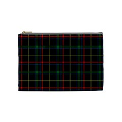 Plaid Tartan Checks Pattern Cosmetic Bag (medium)  by Nexatart