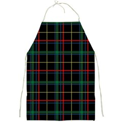 Plaid Tartan Checks Pattern Full Print Aprons