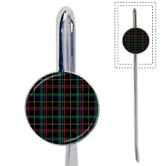 Plaid Tartan Checks Pattern Book Mark by Nexatart