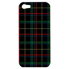 Plaid Tartan Checks Pattern Apple Iphone 5 Hardshell Case by Nexatart
