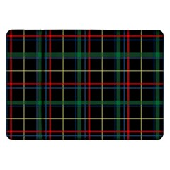 Plaid Tartan Checks Pattern Samsung Galaxy Tab 8.9  P7300 Flip Case by Nexatart