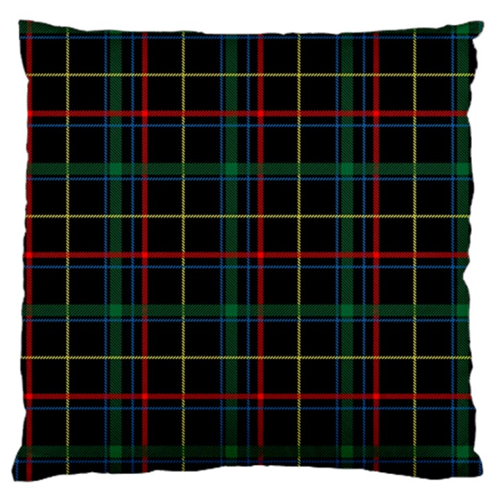 Plaid Tartan Checks Pattern Standard Flano Cushion Case (One Side)