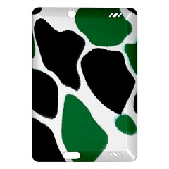 Green Black Digital Pattern Art Amazon Kindle Fire Hd (2013) Hardshell Case by Nexatart