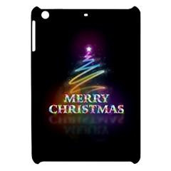 Merry Christmas Abstract Apple Ipad Mini Hardshell Case