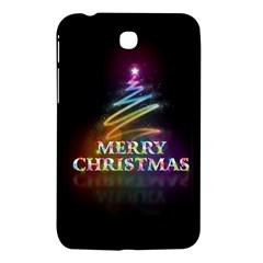 Merry Christmas Abstract Samsung Galaxy Tab 3 (7 ) P3200 Hardshell Case