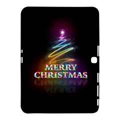 Merry Christmas Abstract Samsung Galaxy Tab 4 (10 1 ) Hardshell Case  by Nexatart
