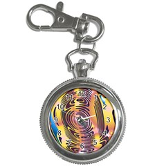 Ethnic Tribal Pattern Key Chain Watches by Nexatart