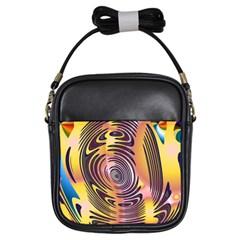 Ethnic Tribal Pattern Girls Sling Bags