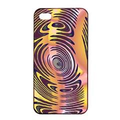 Ethnic Tribal Pattern Apple Iphone 4/4s Seamless Case (black) by Nexatart
